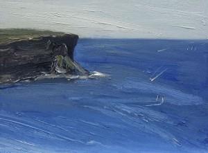 North-head-Oil-on-canvas-76cm-x-100cm-David-K-Wiggs