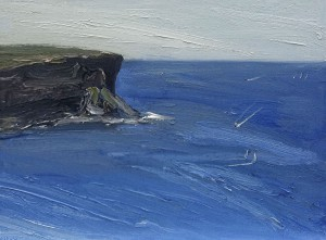 North-head-Oil-on-canvas-76cm-x-100cm-David-K-Wiggs
