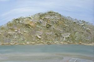 Hot Hawkesbury and The Oyster Farmer-Plein air-Oil on canvas-100cm x 150cm-David K Wiggs 1