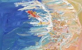 Dee-Why-Surfer-girls-Plein-air-Oil-on-canvas-25cm-30cm-David-K-Wiggs-2018-280x170