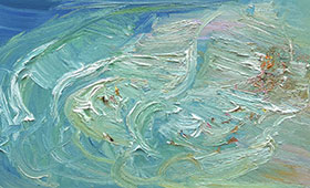 Freshwater-Rip-Oil-on-canvas-76cm-x-150cn-David-K-Wiggs